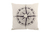 Space & Shape Star Compass Cushion -  - Cushion - JHS - Space & Shape - 1