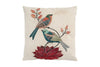Space & Shape Blooming Birds Cushion -  - Cushion - JHS - Space & Shape - 1