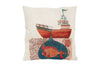 Space & Shape Fishing Under the Sea Cushion -  - Cushion - JHS - Space & Shape - 1