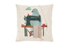 Space & Shape Bird Tailor Cushion -  - Cushion - JHS - Space & Shape - 1