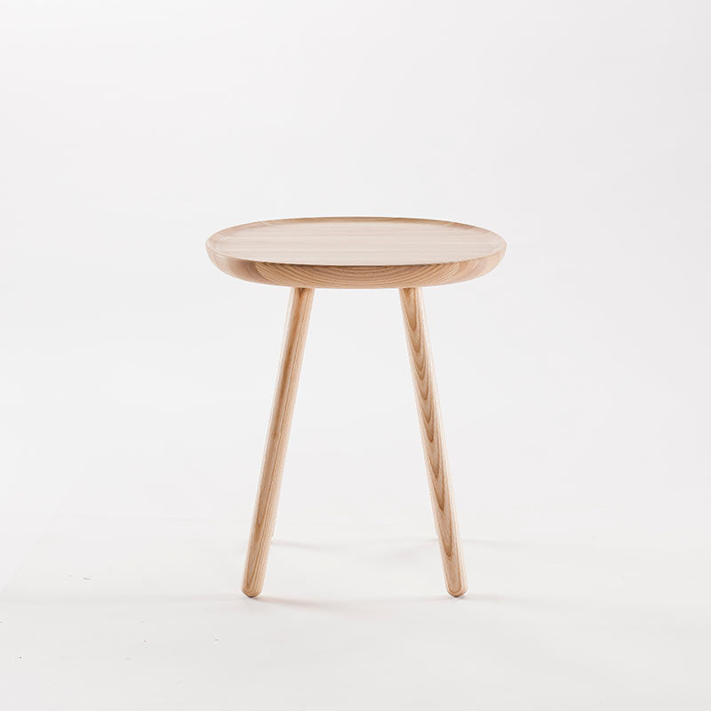 Naive Wooden Side Table, Natural Ash (3 Sizes)-Coffee Table- Space & Shape