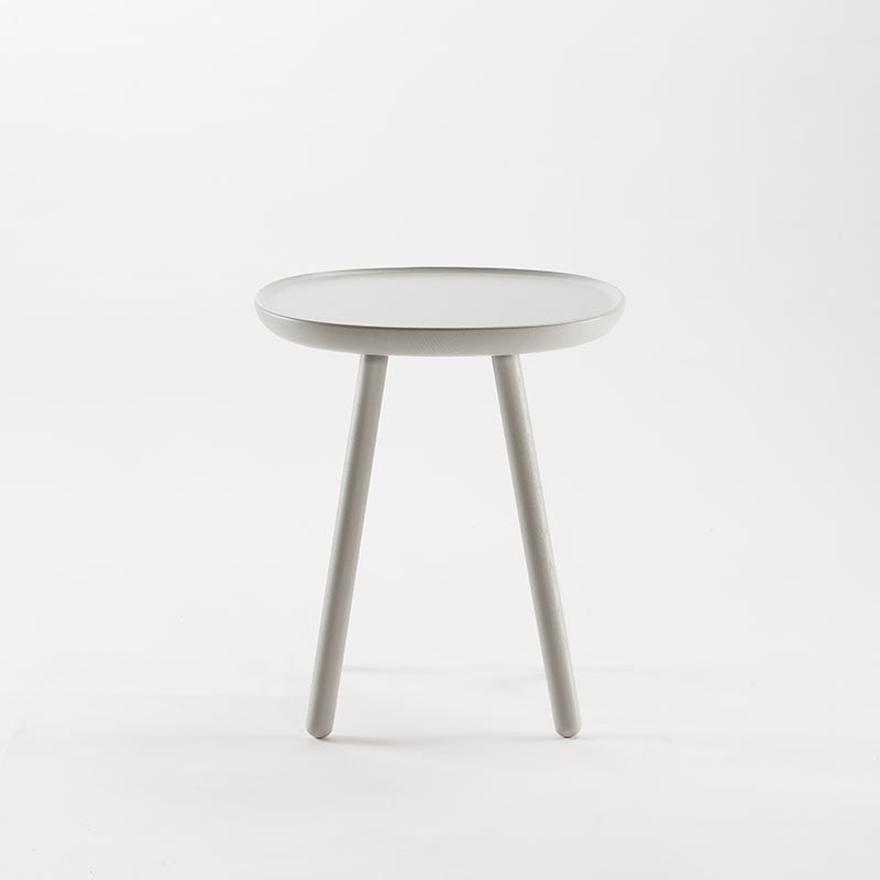 Naive Wooden Side Table, Grey (3 Sizes)-Coffee Table- Space & Shape