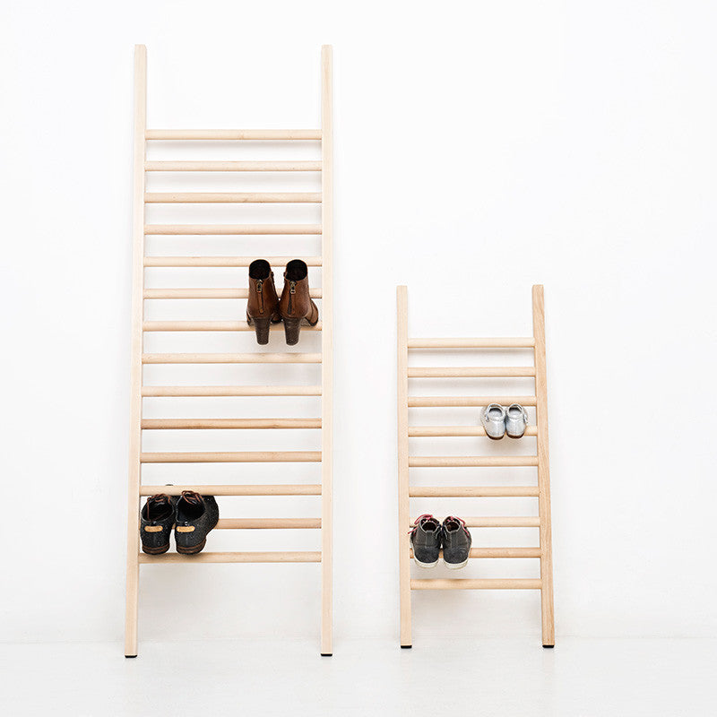 step up ladder shoe rack small
