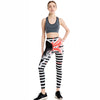 Candy Rainbow Striped Yoga Fitness Leggings-- Space & Shape