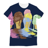 Ice Cream Unisex Sublimation T-Shirt (5 Sizes)-Apparel- Space & Shape