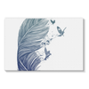 Birds & Feather Stretched Canvas (8 Sizes)-Wall Decor- Space & Shape