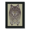 Wolf Framed Canvas (4 Sizes)