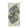 Horse Playing Card Beach Towel (3 Sizes)-Homeware- Space & Shape