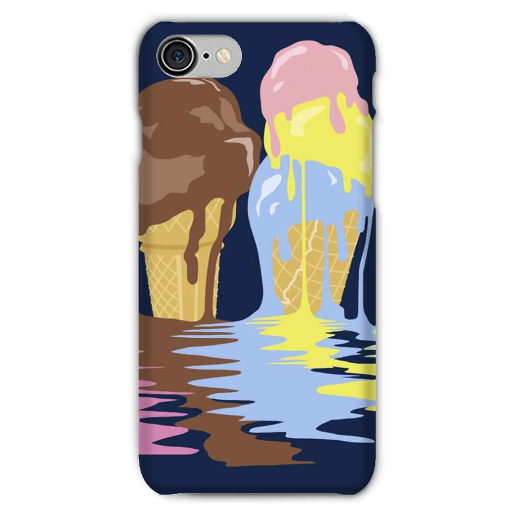 Ice Cream Phone Case (iPhone & Samsung)-Phone & Tablet Cases- Space & Shape
