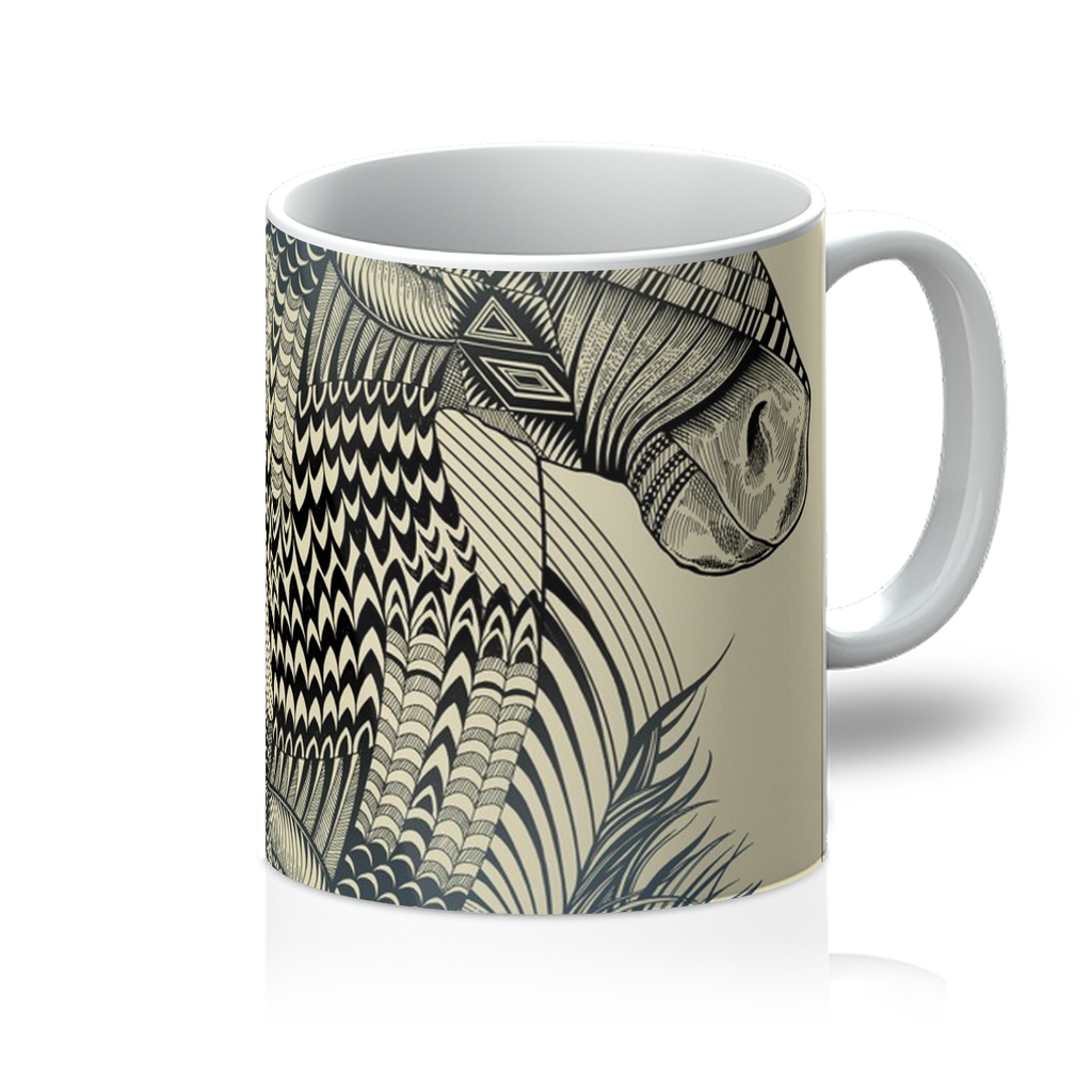 Horse Playing Card Mug-Homeware- Space & Shape