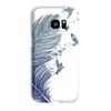 Birds & Feather Phone Case (iPhone & Samsung)-Phone & Tablet Cases- Space & Shape