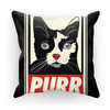 'Purr' Cat Cushion (6 Variants)-Homeware- Space & Shape