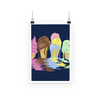 Ice Cream Poster (3 Sizes)-Wall Decor- Space & Shape