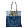 Island Skull Tote Bag-Accessories- Space & Shape