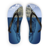 Island Skull Flip Flops (3 Sizes)-Accessories- Space & Shape