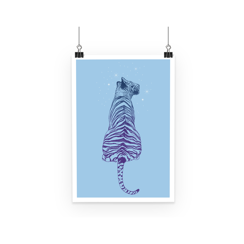 Tiger Poster (3 Sizes)