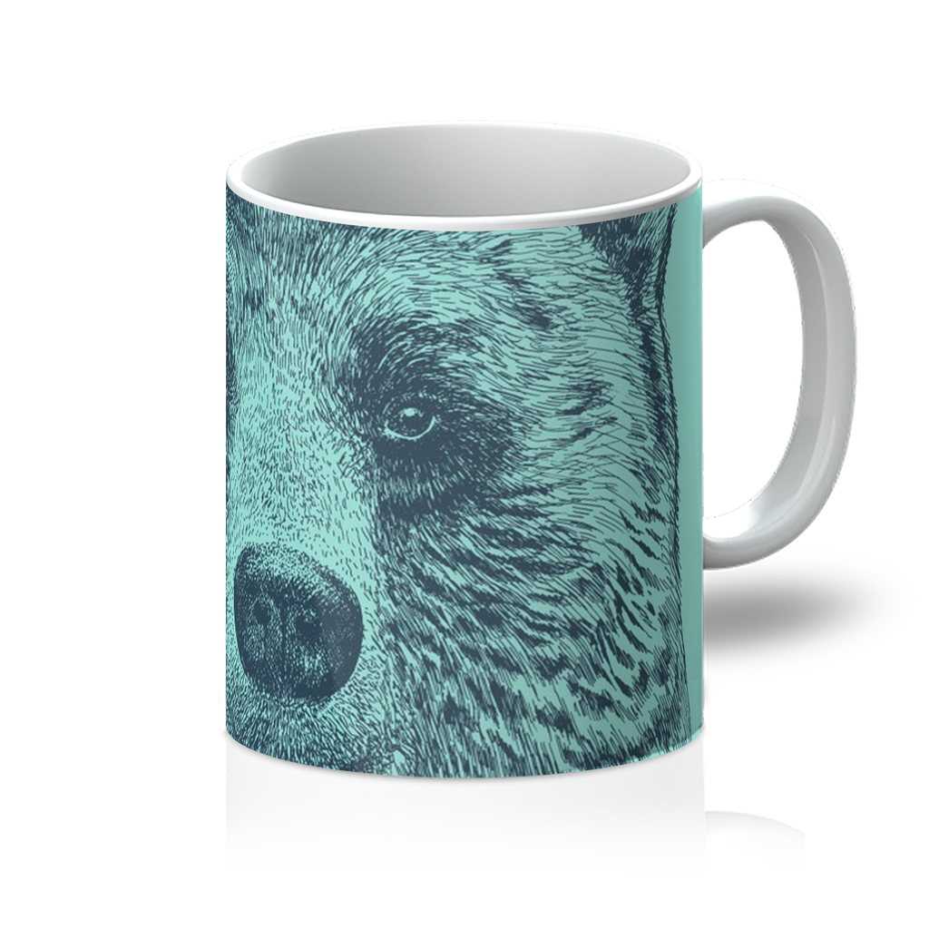 'I Like You' Bear Mug