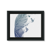 Birds & Feather Framed Canvas (8 Sizes)