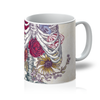 Flower Skeleton Mug
