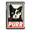 'Purr' Cat Tablet Case (iPad)-Phone & Tablet Cases- Space & Shape