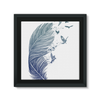 Birds & Feather Framed Canvas (8 Sizes)-Wall Decor- Space & Shape