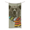 Bear with Scarf Beach Towel (3 Sizes)-Homeware- Space & Shape