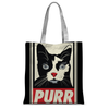 'Purr' Cat Tote Bag-Accessories- Space & Shape