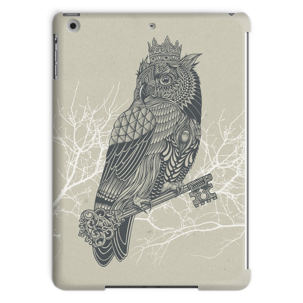 King Owl on Key Tablet Case (iPad)-Phone & Tablet Cases- Space & Shape