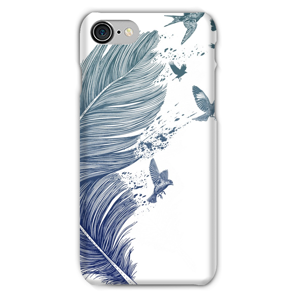 Birds & Feather Phone Case (iPhone & Samsung)