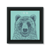 'I Like You' Bear Framed Canvas (6 Sizes)