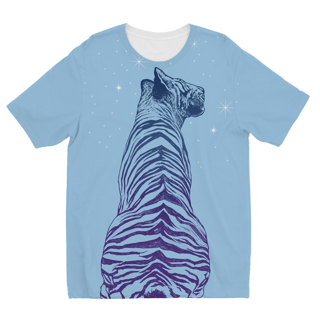 Tiger Kids Sublimation T-Shirt (5 Sizes)
