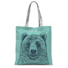 'I Like You' Bear Tote Bag