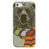 Bear with Scarf Phone Case (iPhone & Samsung)-Phone & Tablet Cases- Space & Shape