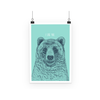 'I Like You' Bear Poster (3 Sizes)-Wall Decor- Space & Shape