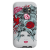 Girl with Roses Phone Case (iPhone & Samsung)