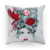Girl with Roses Cushion (6 Variants)