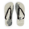 King Owl on Key Flip Flops (3 Sizes)-Accessories- Space & Shape