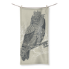 King Owl on Key Beach Towel (3 Sizes)-Homeware- Space & Shape