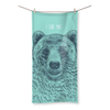 'I Like You' Bear Beach Towel (3 Sizes)-Homeware- Space & Shape