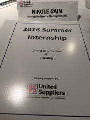 Intern Orientation Day 1 - York, NE