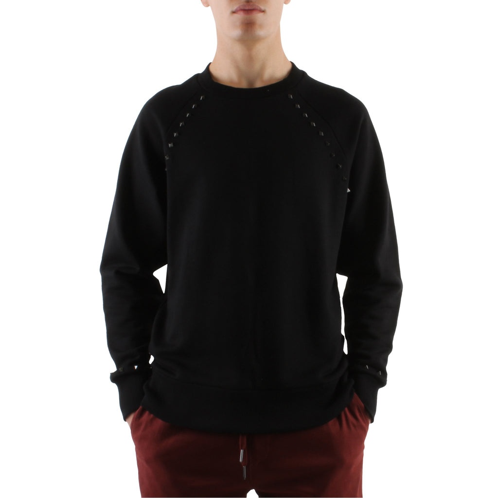 SWEATSHIRT WITH STUDS - Standard Issue NYC