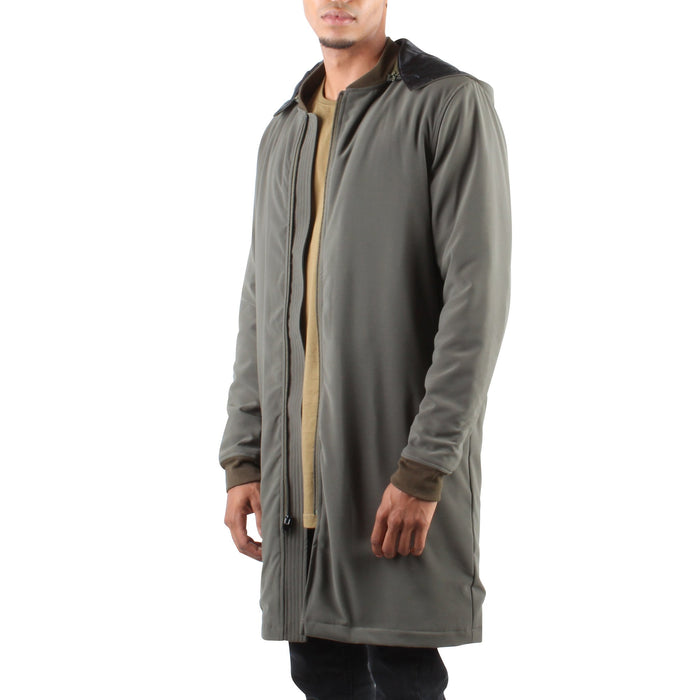 HOODED LONG BOMBER - Standard Issue NYC