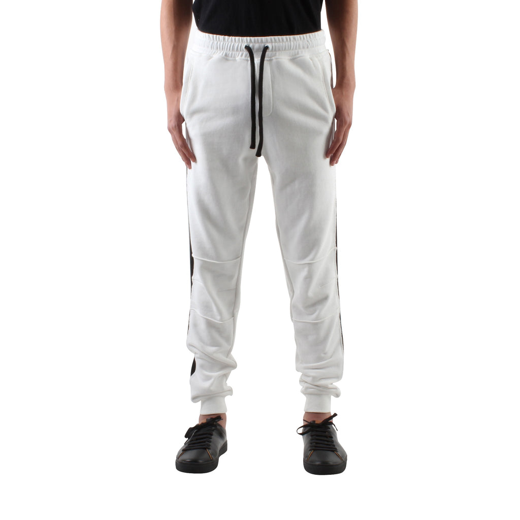 WHITE SLIM SWEAT JOGGERS - Standard Issue NYC