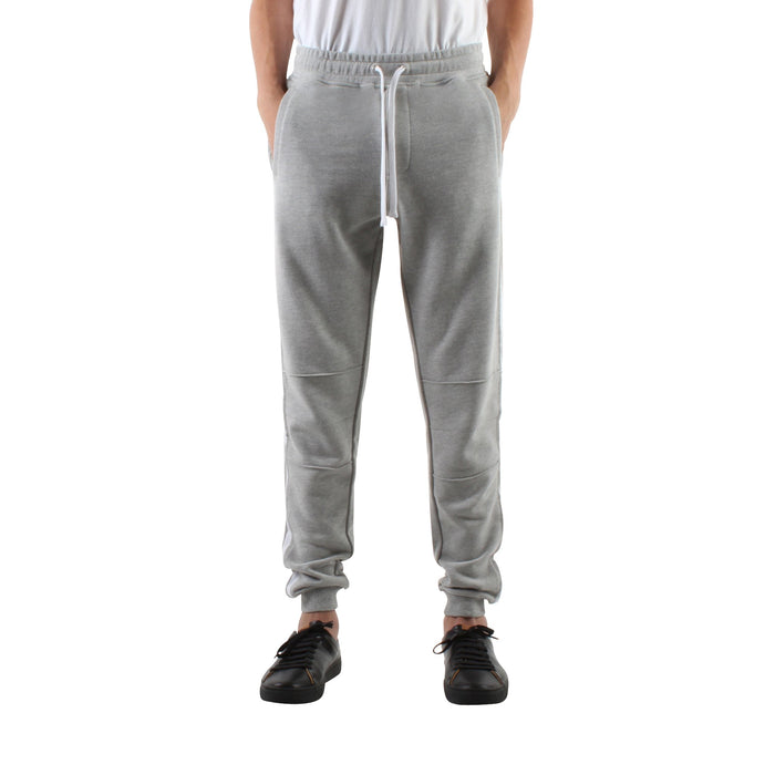 GREY SLIM SWEAT JOGGERS - Standard Issue NYC