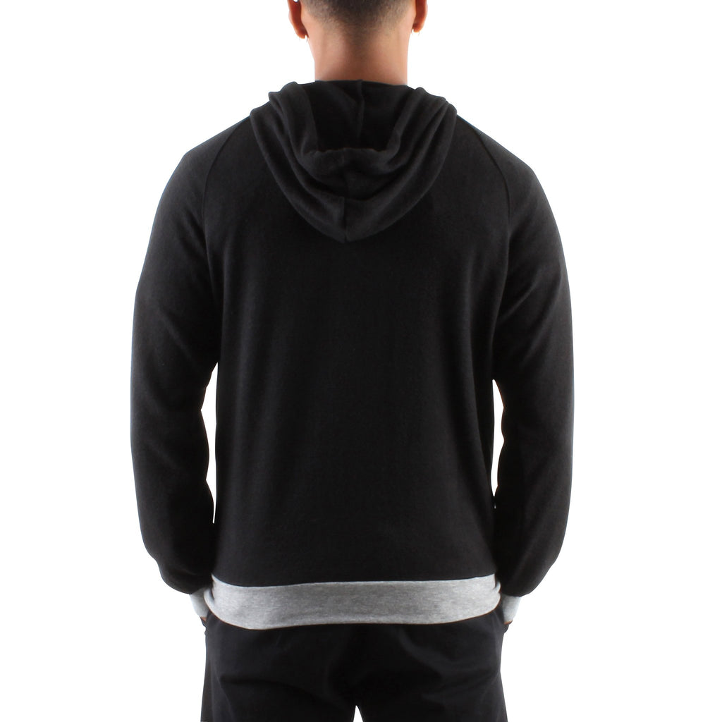 HACCI BLACK LONG SLEEVE HOODIE - Standard Issue NYC