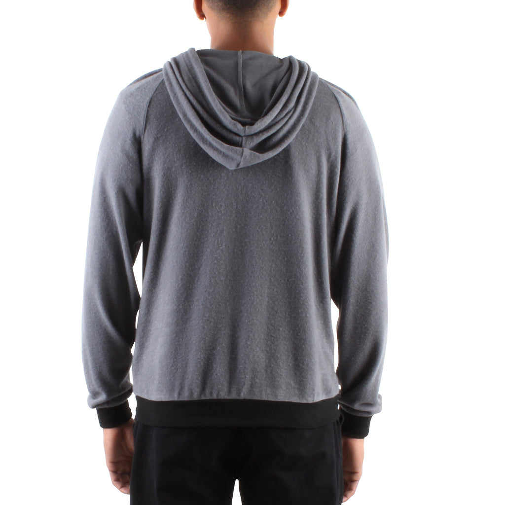 HACCI GREY LONG SLEEVE HOODIE - Standard Issue NYC