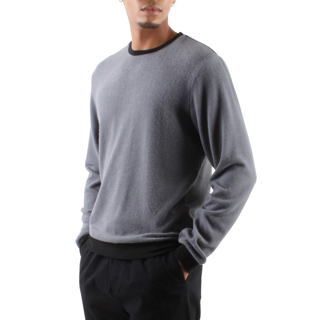 HACCI ANTHRACITE LONG SLEEVE CREW - Standard Issue NYC