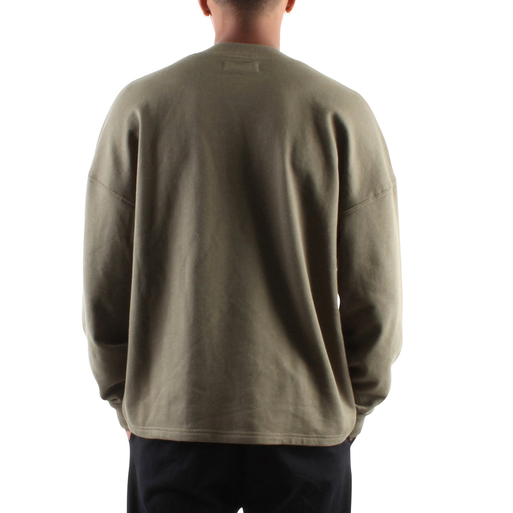 LIGHT MILITARY GREEN DROP PULLOVER - Standard Issue NYC