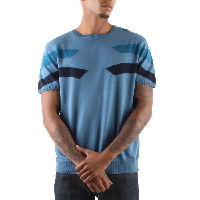 SHORT SLEEVE KNIT SWEATER - Standard Issue NYC