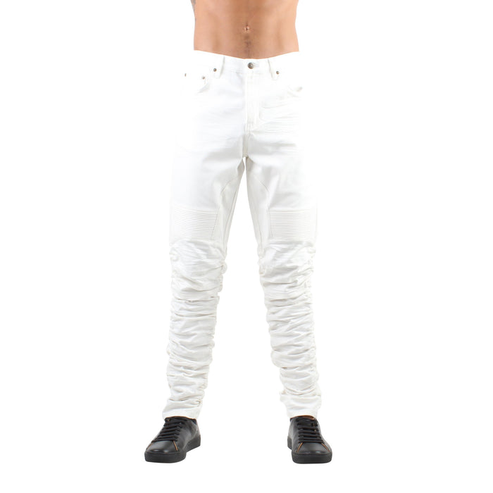 STACKED JEANS - WHITE - Standard Issue NYC